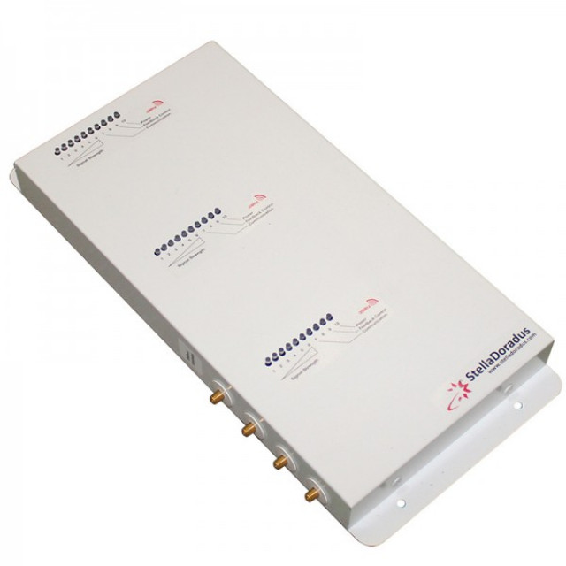 Signal Repeater Kit for Voice/SMS, 4G LTE & 3G Data - SD-RP1002-LGW-4P (800MHz / 900MHz / 2100MHz)