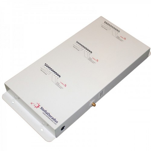 Signal Repeater Kit for Voice/SMS, LTE & 3G Data – SD-RP1002-LGW (800MHz / 900MHz / 2100MHz)