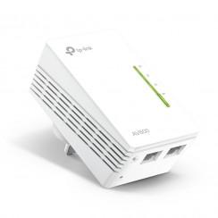 TP-Link TL-WPA4220 - 300Mbps AV600 Powerline Wi-Fi Extender with 2 LAN ports