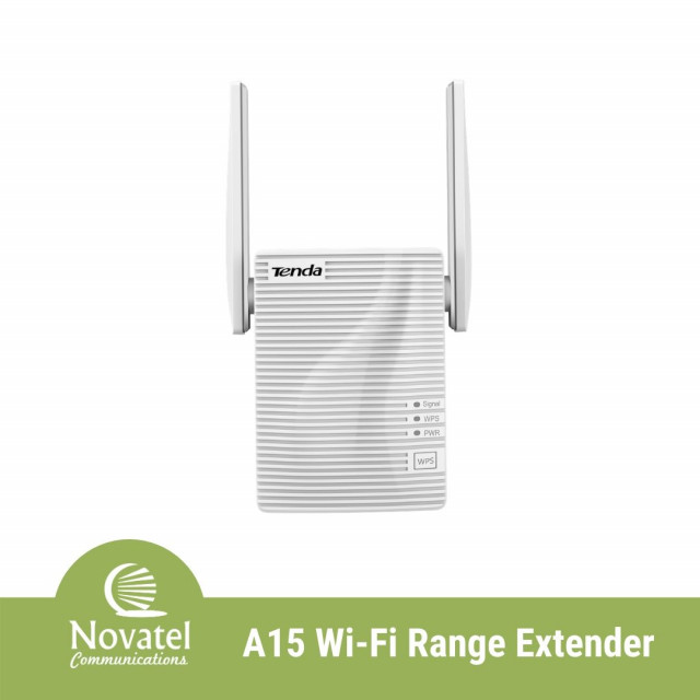 Tenda A15 - AC750 Dual Band 433Mbps WiFi Repeater Kit