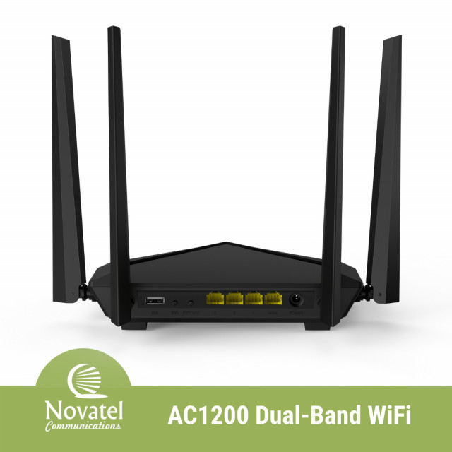 Tenda AC10U - AC1200 Dual-Band WiFi Gigabit Router