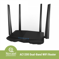 Tenda AC6 - AC1200 Smart Dual-Band Wi-Fi Router