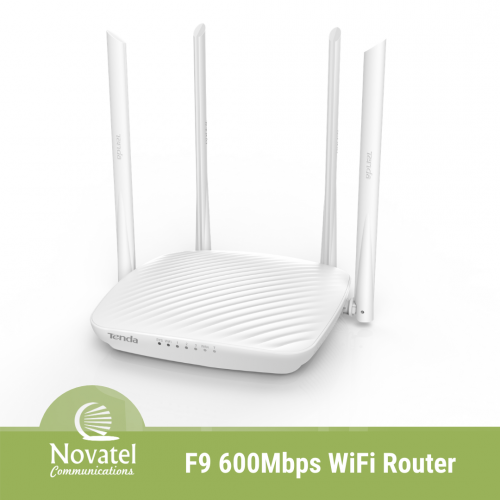 Tenda F9 - 600Mbps Whole-Home Coverage Wi-Fi Router