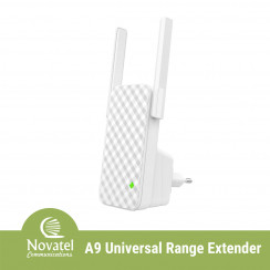 Tenda A9 - Wireless N300 2.4GHz 300Mbps Universal Range Extender with WPS Button