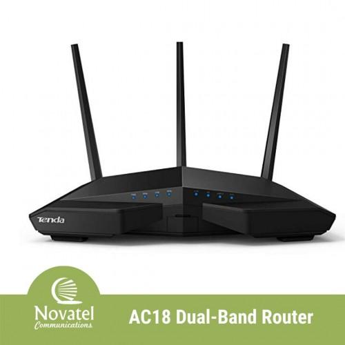 Tenda AC18 - AC1900 Smart Dual-Band Gigabit WiFi Router