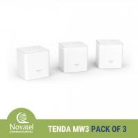 Tenda Nova MW3 AC1200 Whole Home Mesh WiFi System - PPPoE & Bridge Mode Capable (Pack of 2 OR 3)
