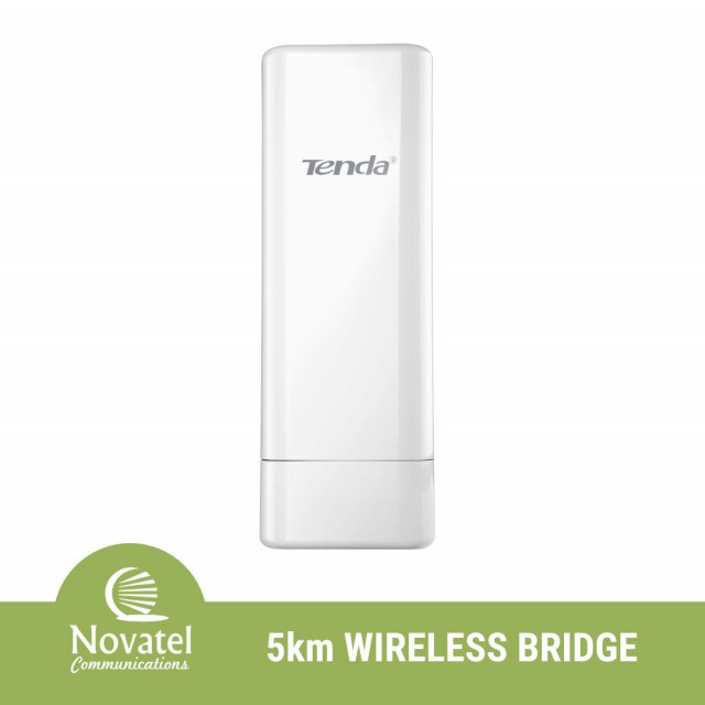 Tenda O3 - Point-to-Point Outdoor CPE 5km Long Range Wireless Bridge (Wireless/Wired Network Extender)