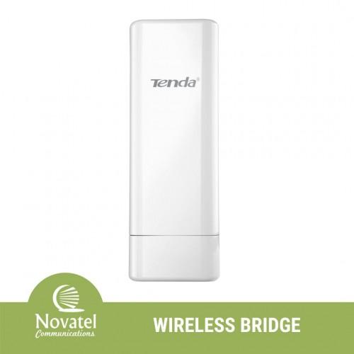 Tenda O6 Point-to-Point Outdoor 10km Long Range Wireless Bridge CPE (Extends WiFi & Wired Network)