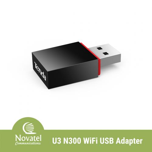 Tenda U3 - 300Mbps Mini Wireless N Adapter