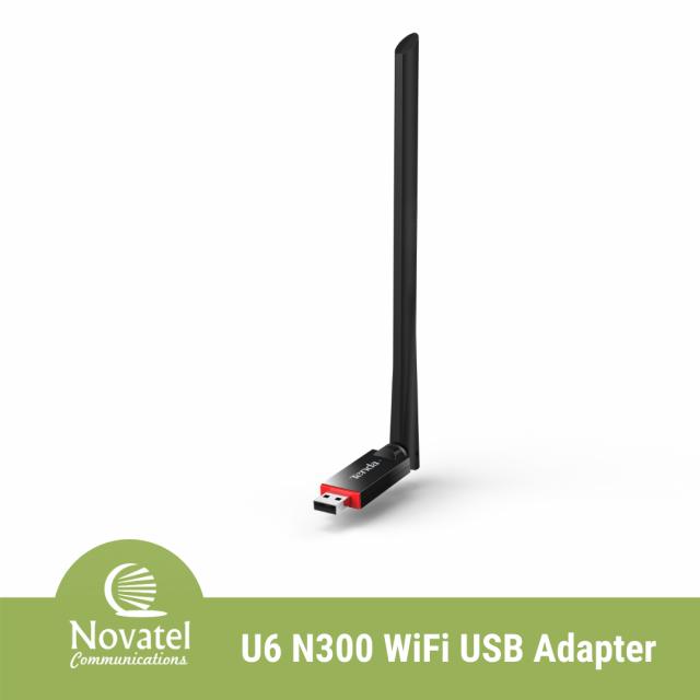 Tenda U6 - Wireless N300 High Gain USB Adapter