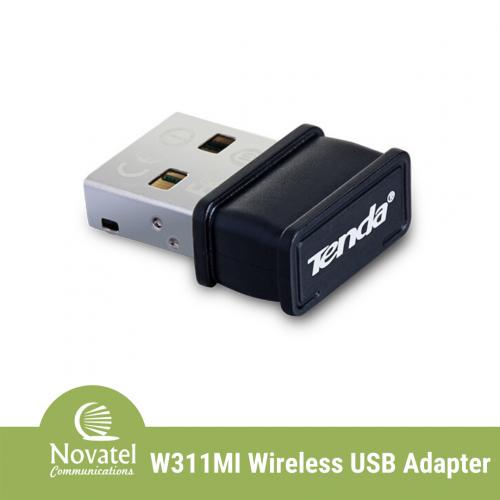 Tenda W311MI - 150Mbps Wireless Network USB2.0 Adapter (Linux Compatible)